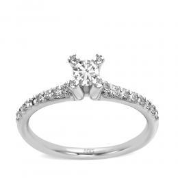 0,33 ct Diamant Verlobungsring