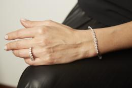 0,52 ct Diamant Tennis Armband