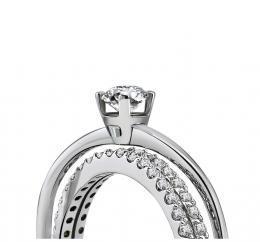 0,63 ct Diamant Verlobungsring