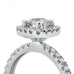 0,85 ct Diamant Verlobungsring