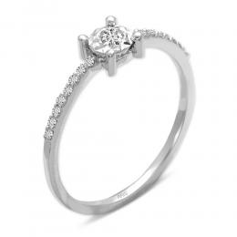 0,14 ct Diamant Miracle Solitärring