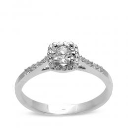 0.19 Ct Diamant Solitaire Ring