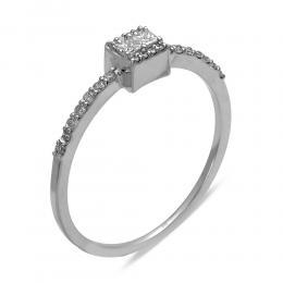 0,23 ct Diamant Verlobungsring