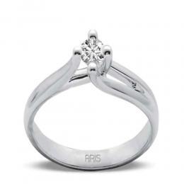 0,42 ct Diamant Solitärring