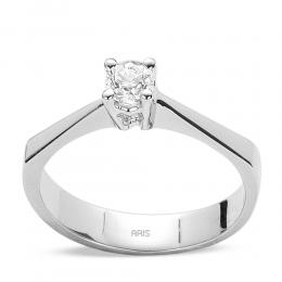 0,25 Ct. Diamant Solitaire Ring