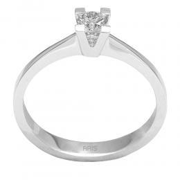 0,19 Ct Diamant Solitaire Ring