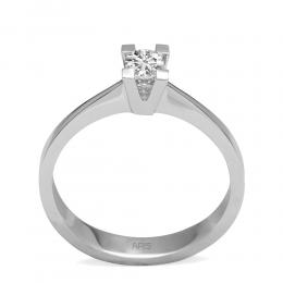 0,19 Ct Diamant Solitaire Ring