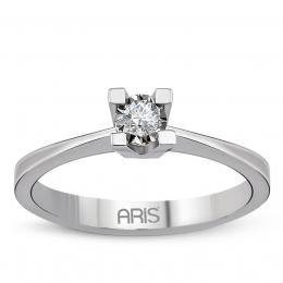 0,05 Ct Miracle Diamant Solitaire Ring