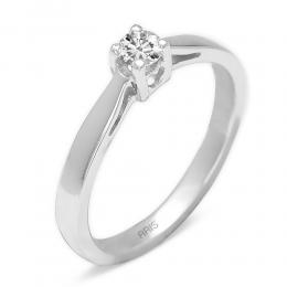 0.19 ct Diamant Solitärring