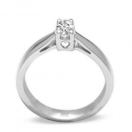 0.19 Ct. Diamant Solitaire Ring