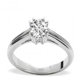 0,47 ct Diamant Solitärring