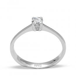 0,17 ct Diamant Solitärring