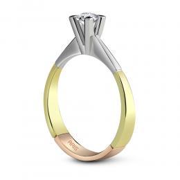 0,24 ct Diamant Solitärring