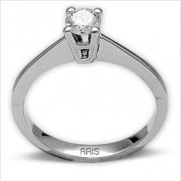 Ct. 0,30 Diamant Solitaire Ring