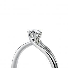 0,08 ct Diamant Solitärring