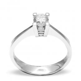 0,38 Ct. Diamond Solitare Ring