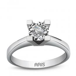 0,31 ct Diamant Miracle Solitärring (1,50 Ct Ansicht)