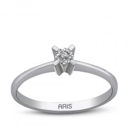 0,03 ct Diamant Miracle Solitärring (0,15 ct Ansicht)