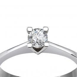 0,23 ct Diamant Solitärring