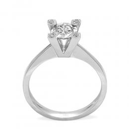 0,23 ct Diamant Miracle Solitärring (1.00 Ct Ansicht)
