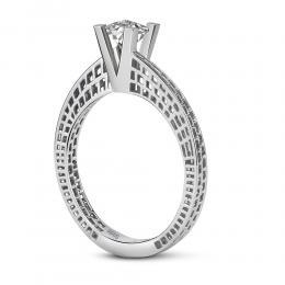 0,10 ct Diamant Miracle Solitärring