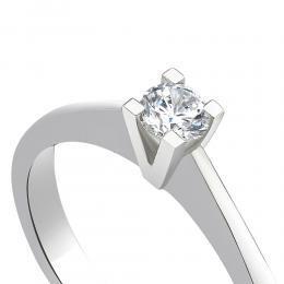 0,20 ct Diamant Solitärring