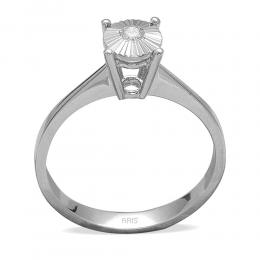 0,06 ct Miracle Solitärring (0.25 Ct. Ansicht)