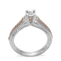0,36 Ct Diamond Solitaire Ring