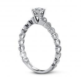 0,12 ct Diamant Miracle Solitärring