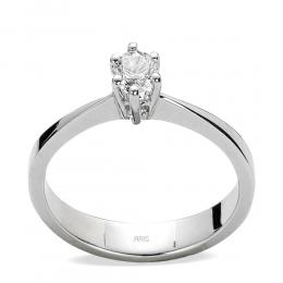 0,40 ct Diamant Solitärring