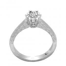0,20 ct Diamant Miracle Solitärring (0,70 ct Ansicht)