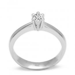 0,33 ct Diamant Solitärring