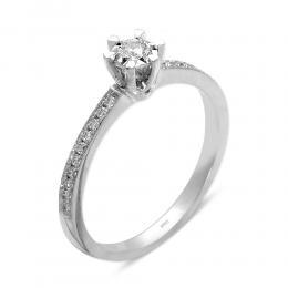 0,13 ct Diamant Miracle Verlobungsring