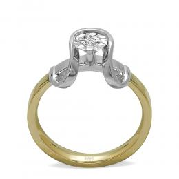 0,15 ct Diamant Miracle Solitärring