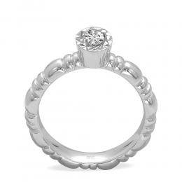 0,16 ct Miracle Solitärring (0.60 Ct Ansicht)
