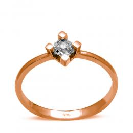 0.04 ct Diamant Solitaire Ring