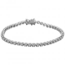 2,44 ct  Diamant Armband
