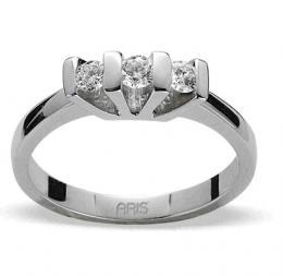 0,26 Ct. Tria Diamant Ring