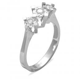 0,21 ct Diamant Miracle Tria Ring