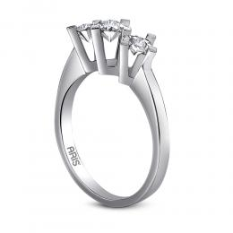0,21 ct Diamant Miracle Tria Ring