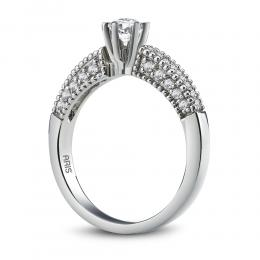 0,51 ct Diamant Solitärring