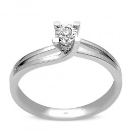0.04 ct.Diamant Ring