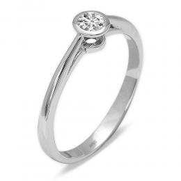 0,15 ct Diamant Solitärring